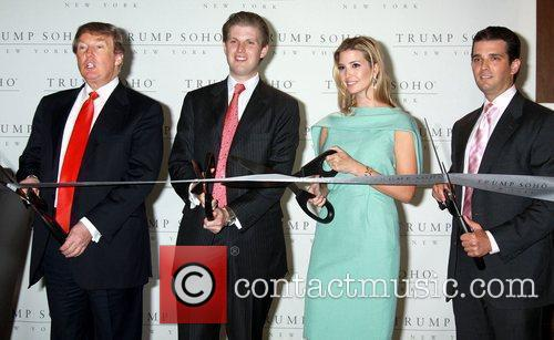 Donald Trump, Eric Trump and Ivanka Trump 7