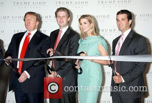 Donald Trump, Eric Trump and Ivanka Trump 9