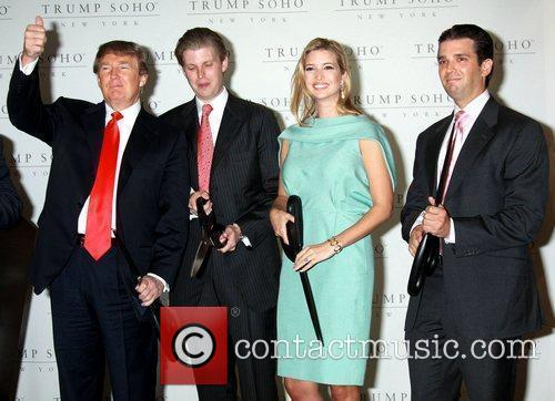 Donald Trump, Eric Trump and Ivanka Trump 4
