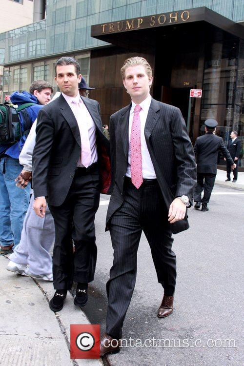Donald Trump, Jr. and Eric Trump 2