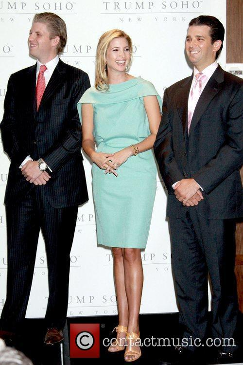 Eric Trump, Donald Trump and Ivanka Trump 1