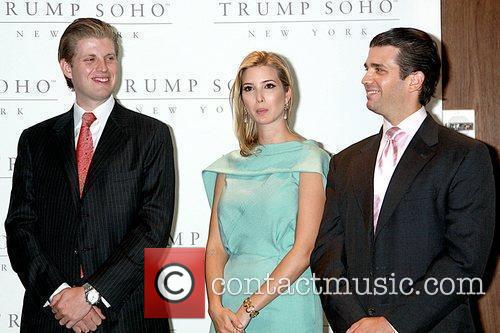 Eric Trump, Donald Trump and Ivanka Trump 3