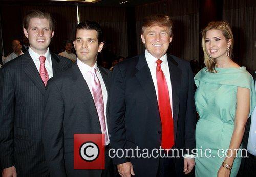 Eric Trump and Donald Trump 4