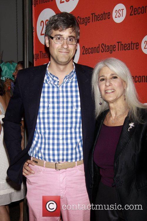 Mo Rocca and Jamie deRoy Opening night of...