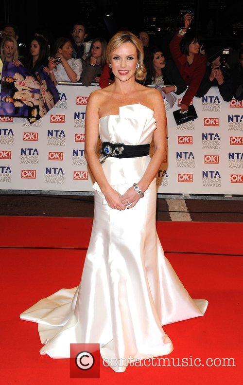 Amanda Holden National Television Awards held at the...