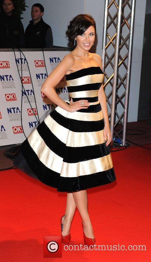 Dannii Minogue National Television Awards held at the...