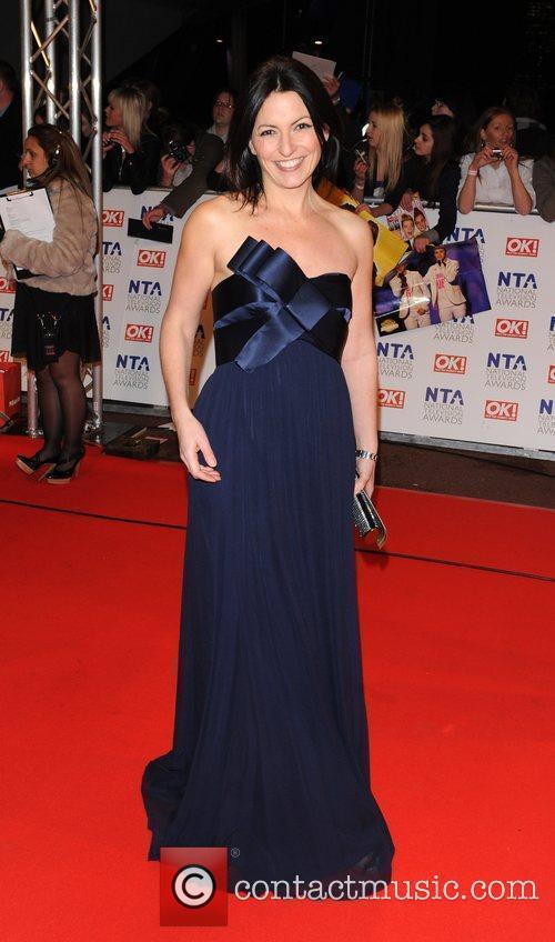 Davina McCall National Television Awards held at the...