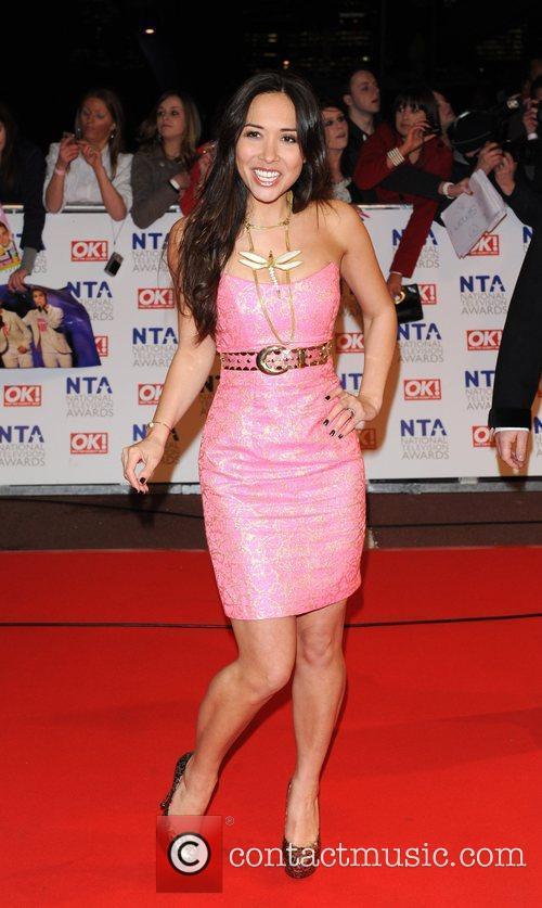 Myleene Klass National Television Awards held at the...