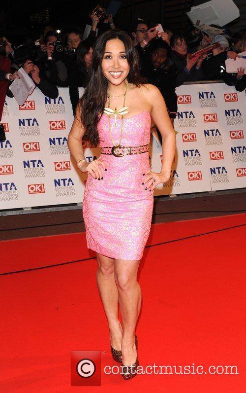 National Television Awards held at the O2 Arena.