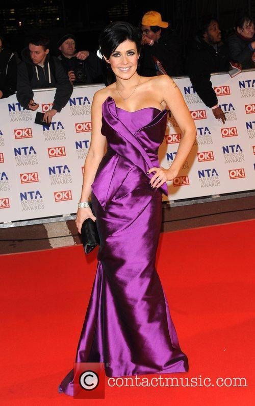 Kym Marsh National Television Awards held at the...