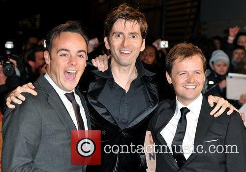 Davind Tennant, And and Dec National Television Awards...