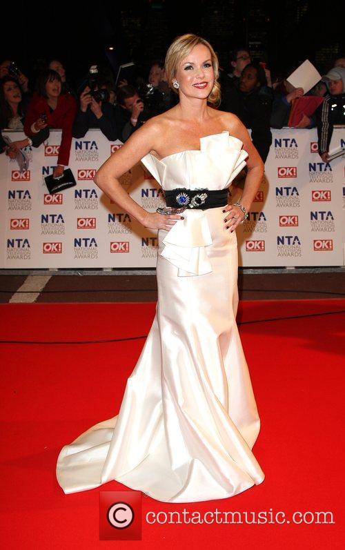 Amanda Holden The National TV awards 2010 held...