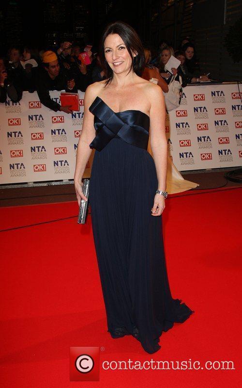 Davina McCall The National TV awards 2010 held...
