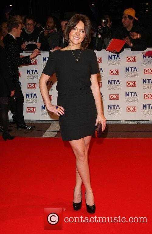 Lacey Turner The National TV awards 2010 held...