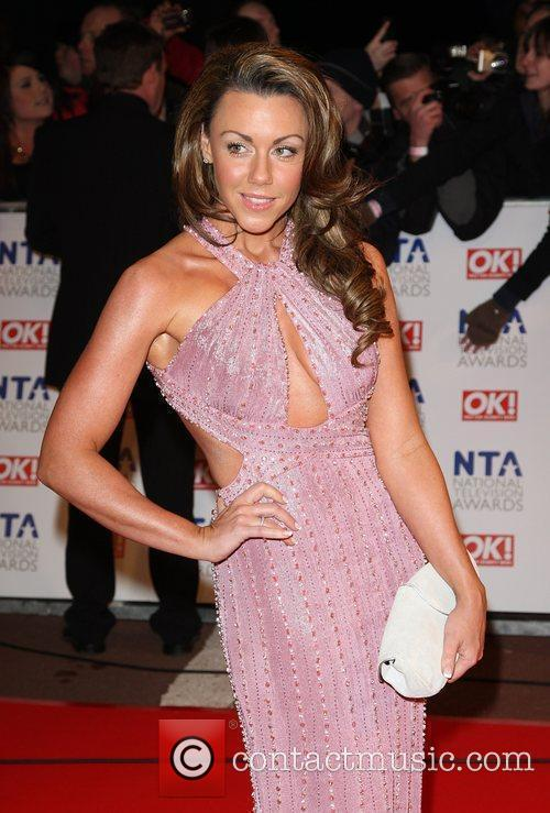 Michelle Heaton The National TV awards 2010 held...