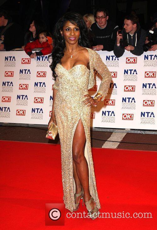 Sinitta The National TV awards 2010 held at...