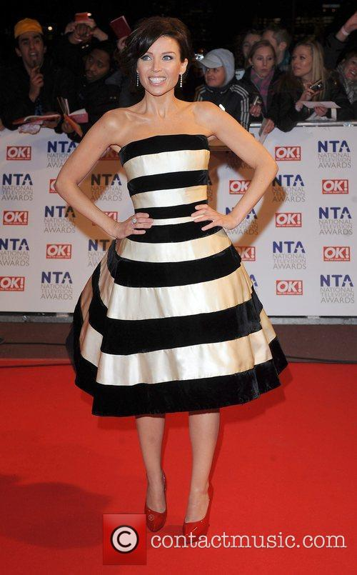 Dannii Minogue The National Television Awards held at...