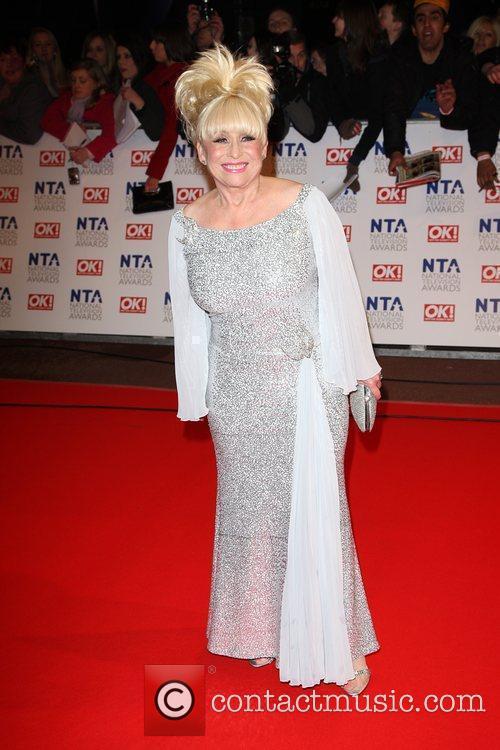 Barbara Windsor The National TV awards 2010 (NTA's)...