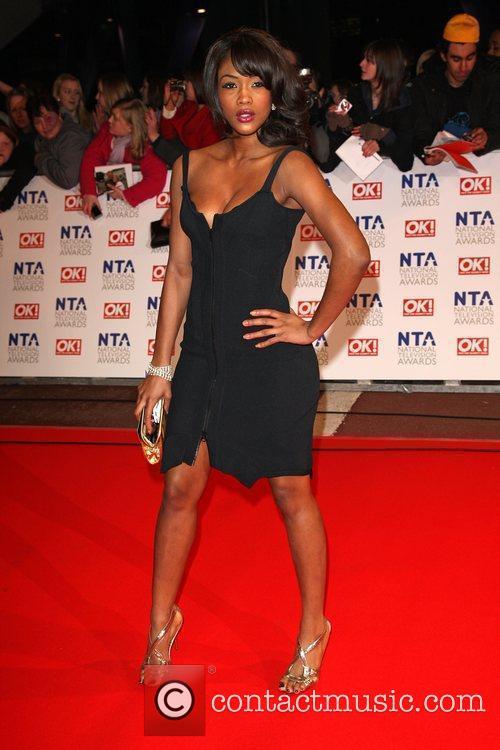 Chelsea Fox The National TV awards 2010 (NTA's)...