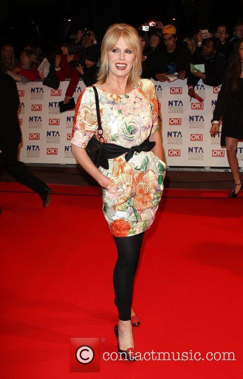 Joanna Lumley The National TV awards 2010 (NTA's)...