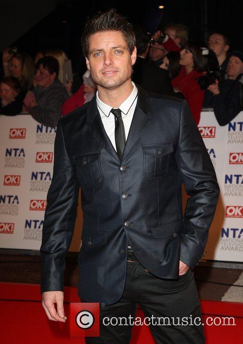 Keith Duffy The National TV awards 2010 (NTA's)...