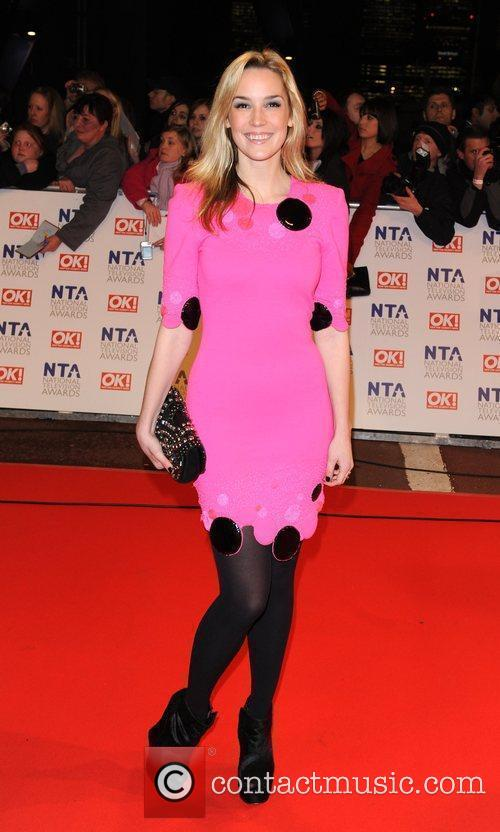 Alice Coulthard National Television Awards held at the...