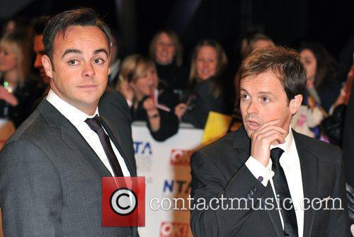Ant McPartlin and Declan Donnelly National Television Awards...