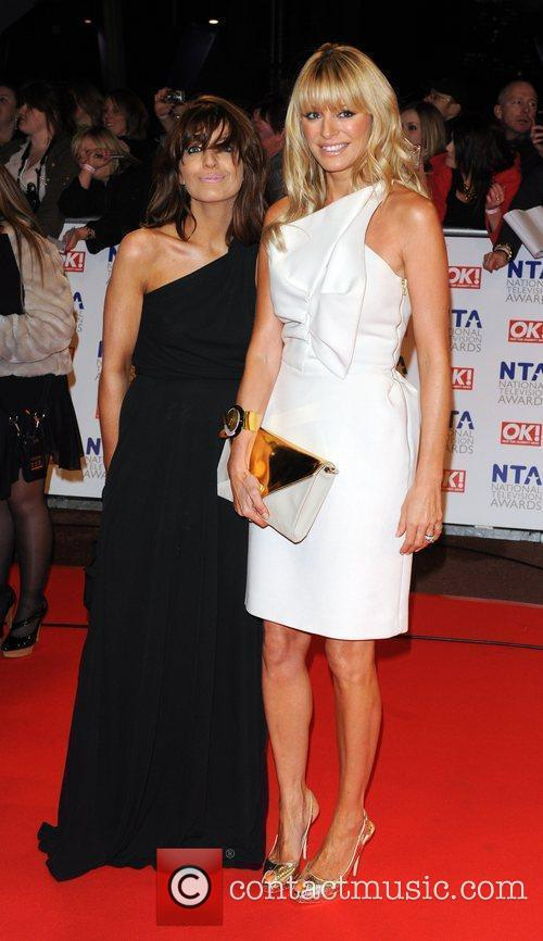 Claudia Winkleman and Tess Daly National Television Awards...