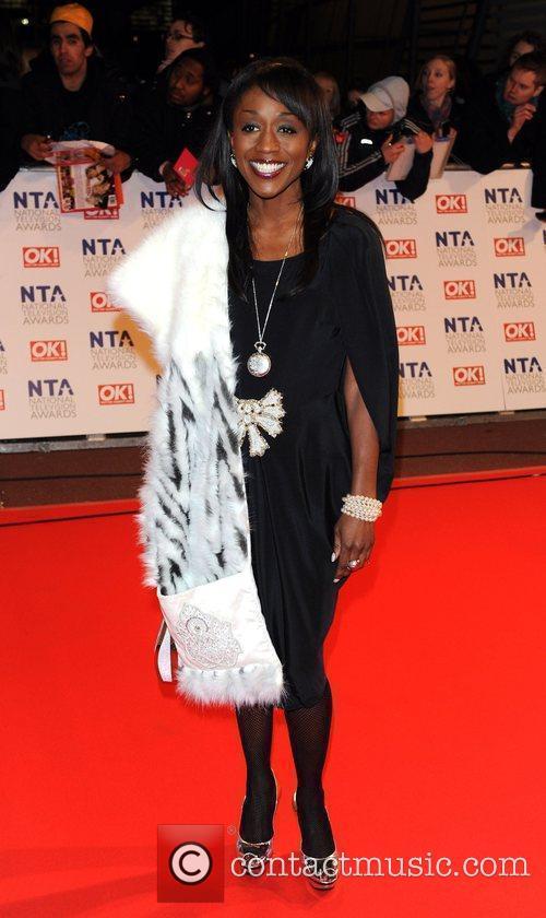 Diane Parish National Television Awards held at the...