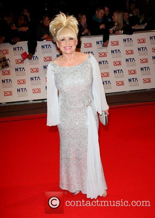 Barbara Windsor The National TV awards 2010 held...
