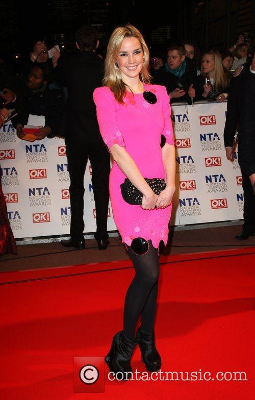 Alice Coulthard The National TV awards 2010 (NTA's)...