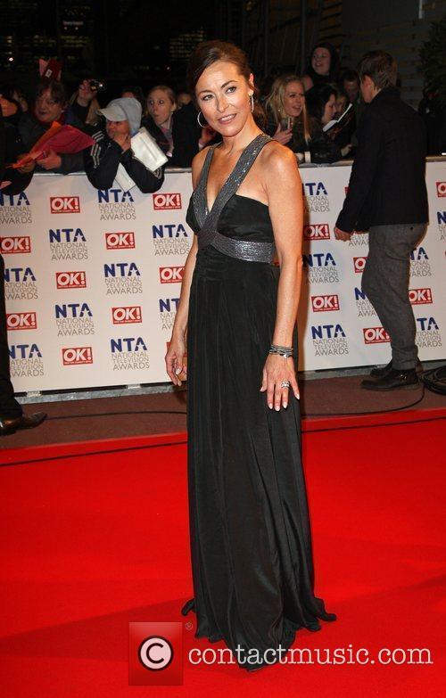 Amanda Donohoe The National TV awards 2010 (NTA's)...