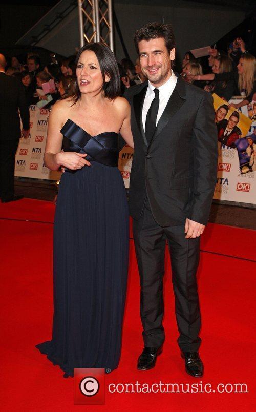 Davina McCall with her husband Matthew Robertson The...