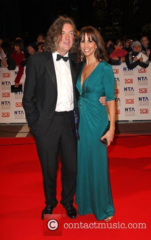 James May and Andrea McLean The National TV...