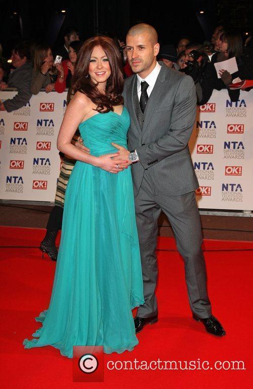 Natasha Hamilton and her husband Riad Erraji The...