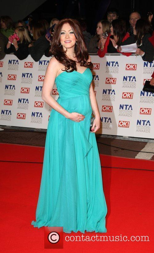 Natasha Hamilton The National TV awards 2010 (NTA's)...