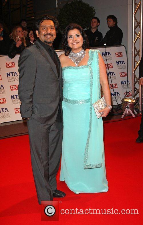 Nina Wadia and Nitin Ganatra The National TV...