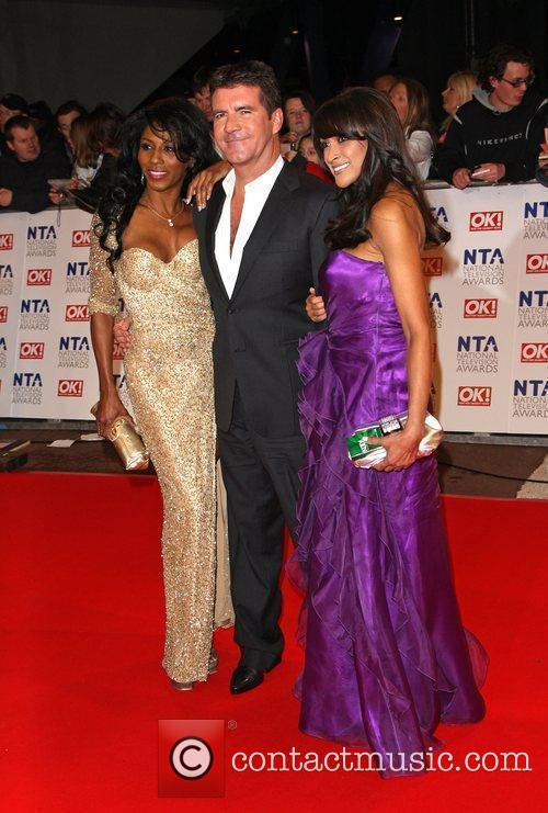 Sinitta and Simon Cowell The National TV awards...