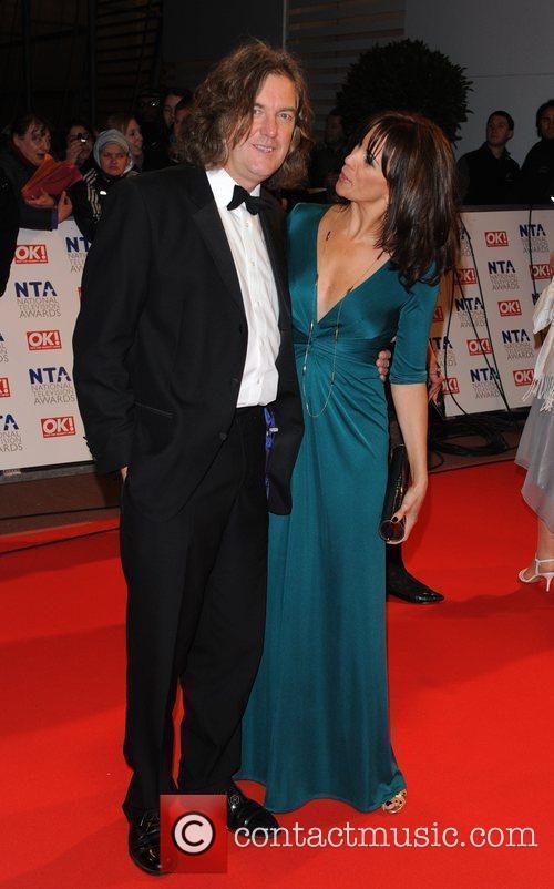 James May and Andrea McLean National Television Awards...