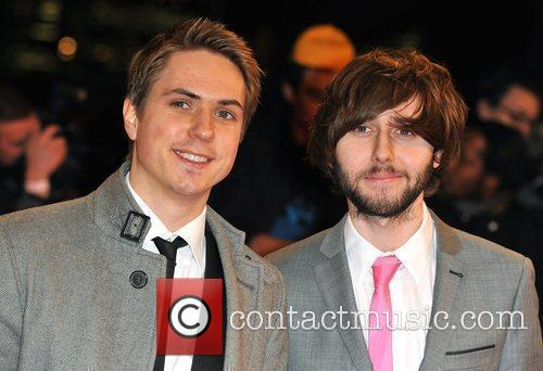 Joe Thomas (L) and James Buckley National Television...