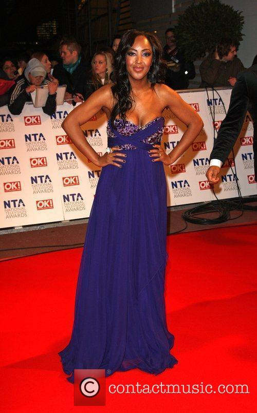 Angelica Bell The National TV awards 2010 (NTA's)...