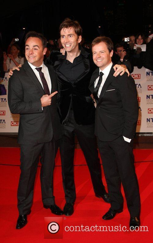 Ant McPartlin, David Tennant and Declan Donnelly The...