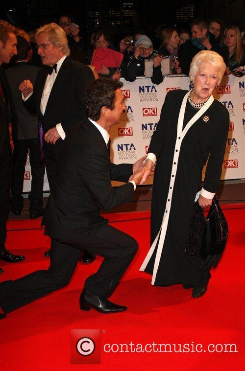Bruno Tonioli and June Whitfield The National TV...