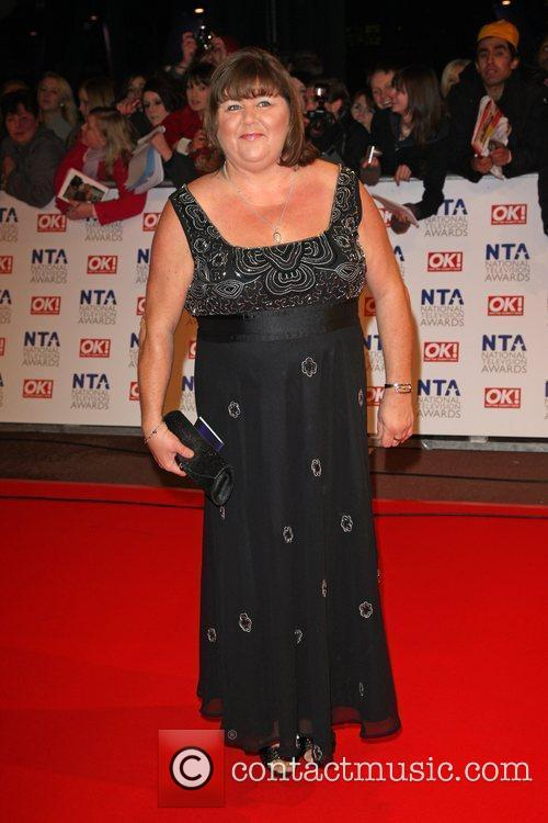 Cheryl Fergison The National TV awards 2010 (NTA's)...