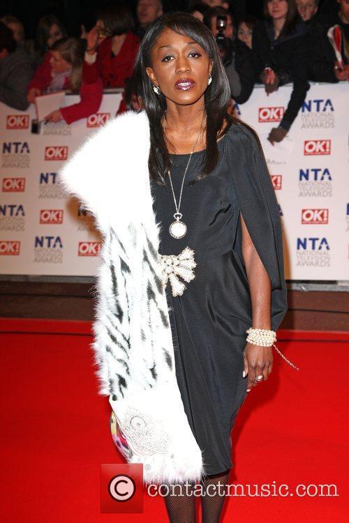 Diane Parish The National TV awards 2010 (NTA's)...