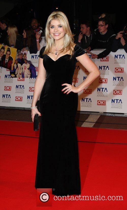 Holly Wiloughby The National TV awards 2010 (NTA's)...