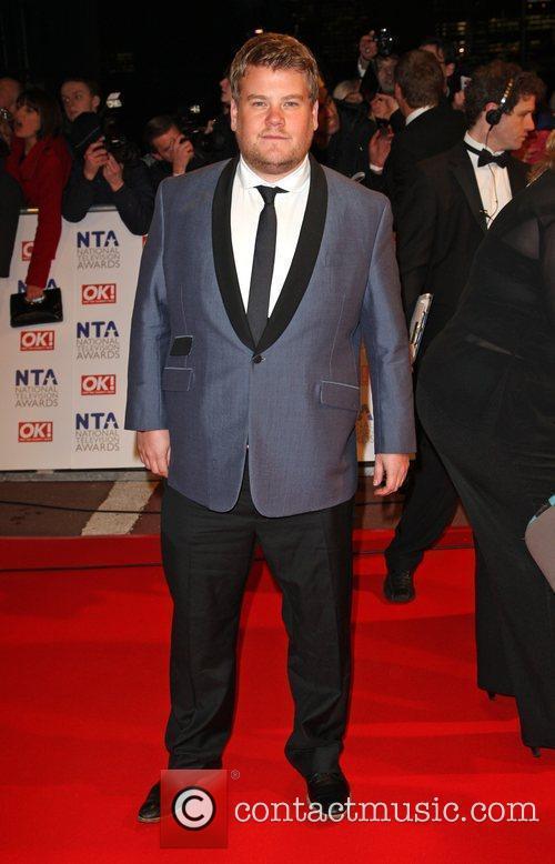 James Corden The National TV awards 2010 (NTA's)...