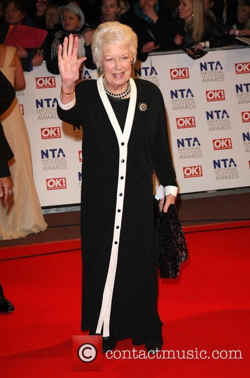 June Whitfield The National TV awards 2010 (NTA's)...