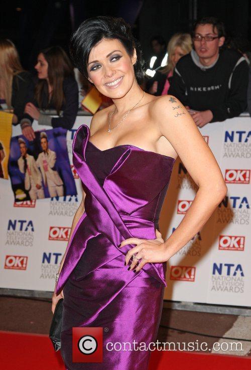Kym Marsh The National TV awards 2010 (NTA's)...