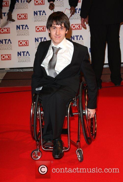 Matt Charnock The National TV awards 2010 (NTA's)...